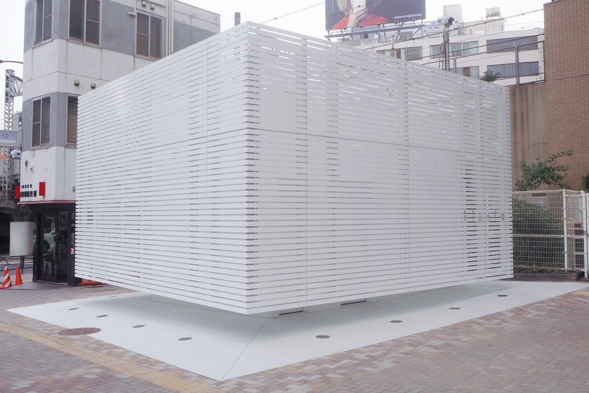 佐藤可士和デザイン恵比寿駅西口トイレ